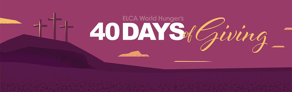 40 days banner